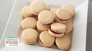 Cookie Recipe - Easy French Macarons - Reader Request Week - Everyday Food with Sarah Carey