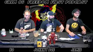 Grim 86 Freedom First Live Stream: Offensive Crayons, MRE Testing, Comedy, Politics, and More!