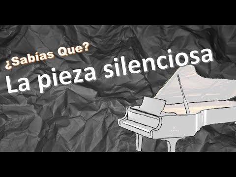 La musica en SILENCIO: 4′33″ | ¿sabías Que? |