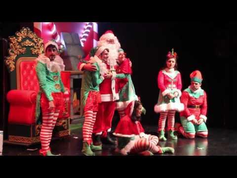 'Santa Claus y la fábrica de juguetes'