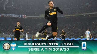 INTER 2-1 SPAL | HIGHLIGHTS | Lautaro Martinez is on fire! 🔥🔥🔥⚫🔵