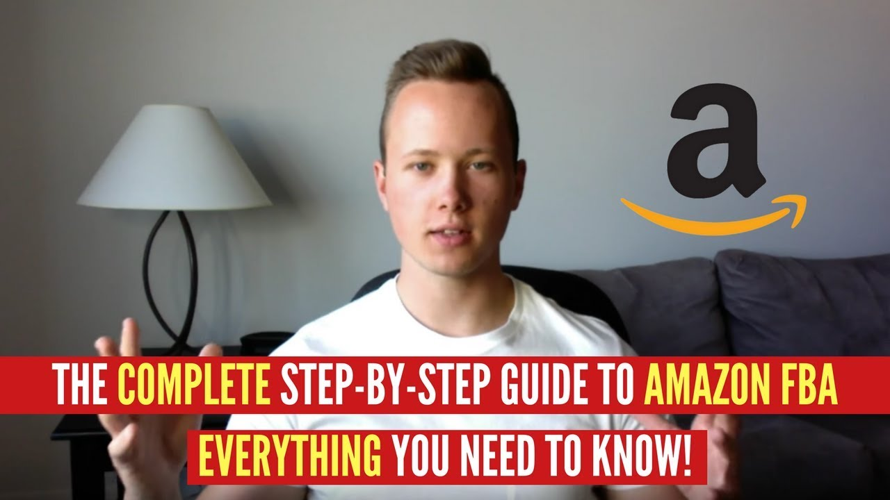 step by step guide to amazon fba