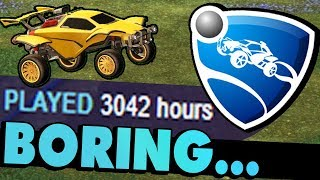 Why Rocket League is boring after 3000 hours...