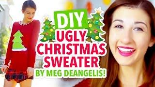 Meg DeAngelis's DIY Ugly Christmas Sweater - HGTV Handmade