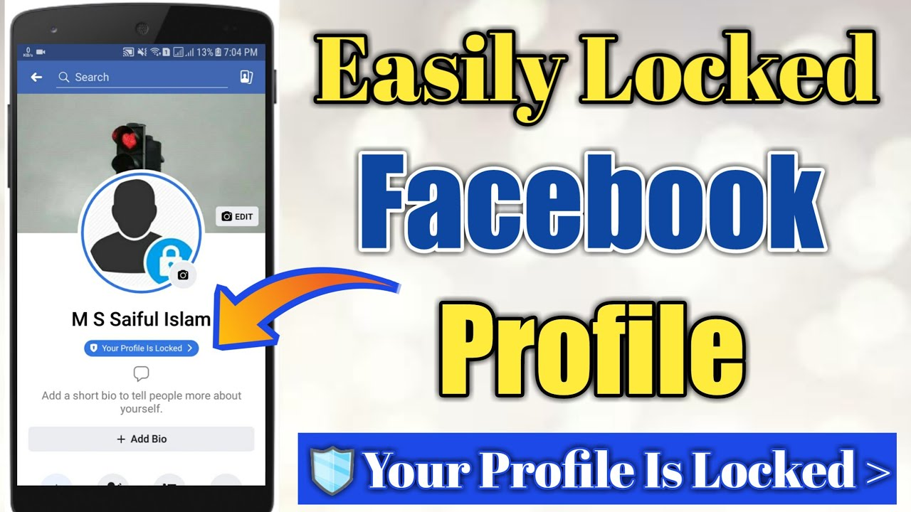 How to Locked Facebook Profile | Facebook Profile is Locked