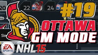 "NHL 15: GM Mode Commentary Ottawa ep. 19 ""Up To The Deadline"""