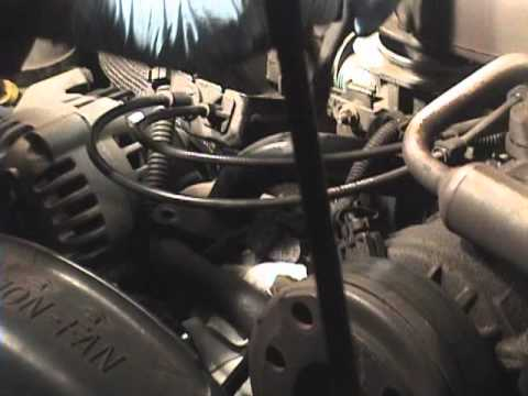1997 Chevy Blazer Thermostat Replacement Youtube