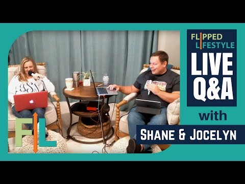 LIVE Online Business Q&A w/ Shane & Jocelyn Sams from Flipped Lifestyle