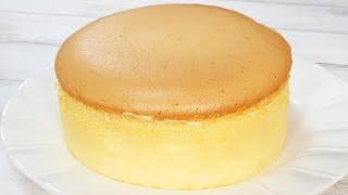 ふわふわスフレチーズケーキJapanese Souffle Cheesecake