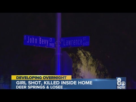 11 Year Old Shot, Killed In North Las Vegas Drive-by