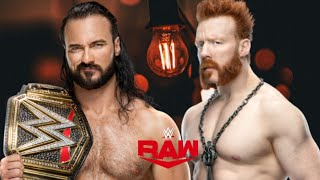 Drew McIntyre vs Sheamus WWE Raw Apr 2 2021