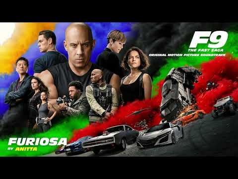 Anitta - Furiosa (Official Audio) [from F9 - The Fast Saga Soundtrack]