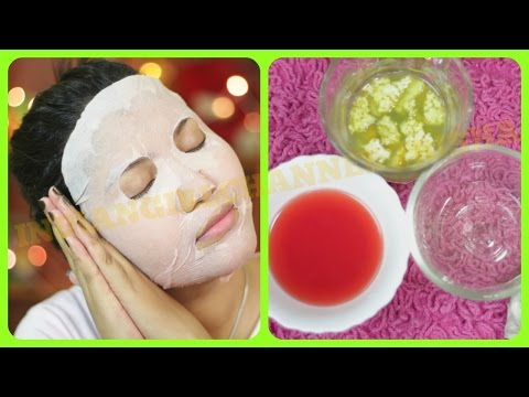 Thumbnail: Best summer special skin care sheet face mask/Get healthy flawless glowing hydrated skin
