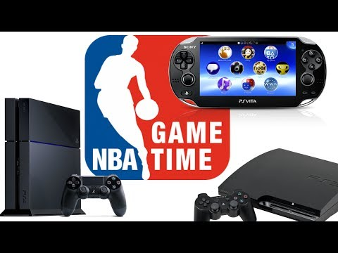 NBA GameTime App On PS3/PS4 And PS Vita