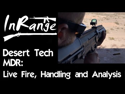 Desert Tech MDR: Live Fire, Handling and Analysis