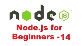 Node.js Tutorial for Beginners 14 - Using node.js for serving HTML page
