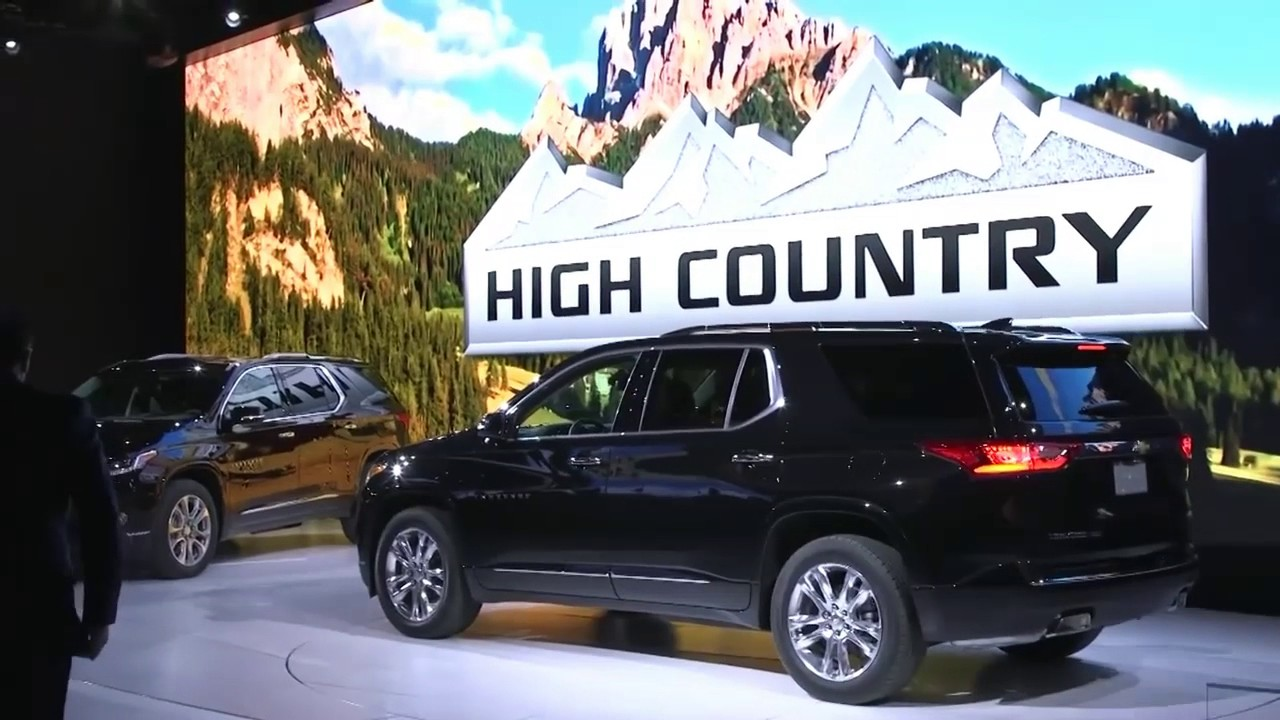 2018 Chevrolet High Country Traverse - New Car Release ...
