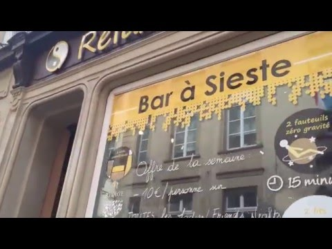 Relax Time : Premier bar à sieste du Luxembourg
