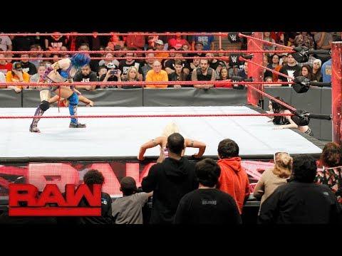 Asuka vs. Dana Brooke: Raw Nov. 27, 2017