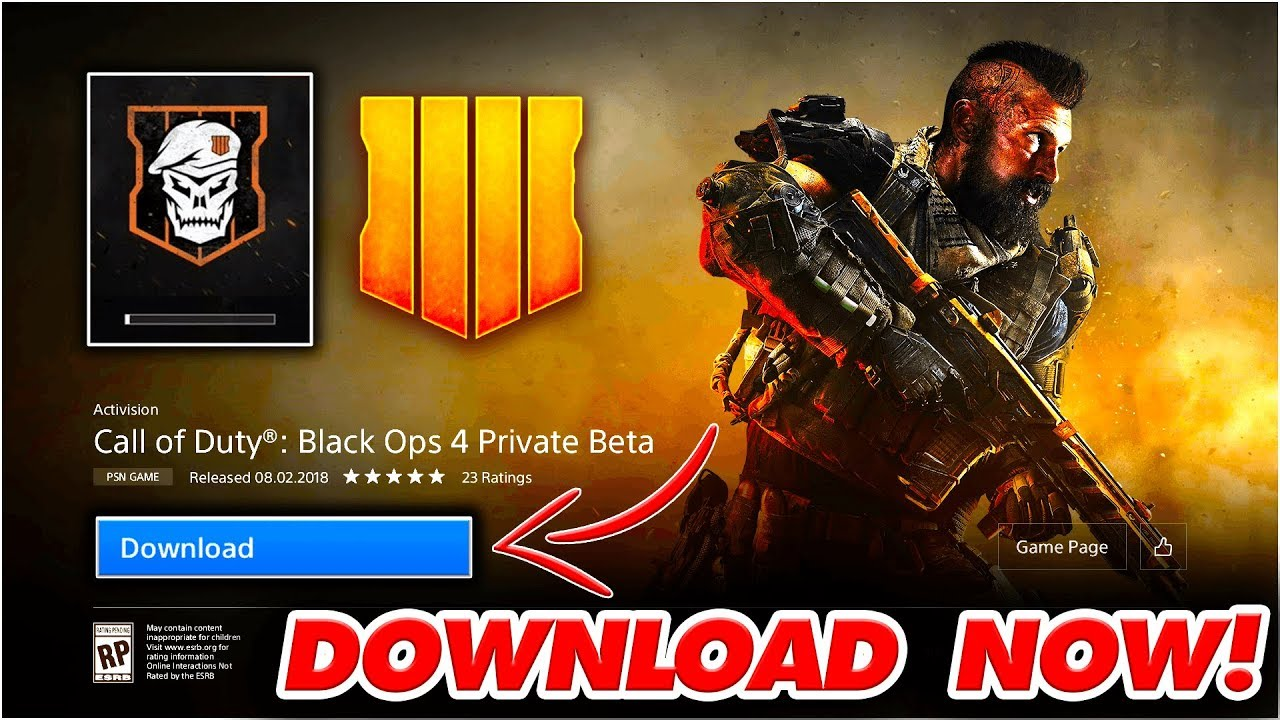 when can you download black ops 4