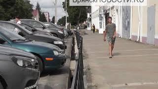 В центре Новозыбкова реконструируют ливневку