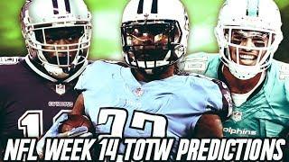 TOTW LTD HENRY, BOSS COOPER, KITTLE AND MORE! TOTW WEEK 14 PREDICTIONS! | MADDEN 19 ULTIMATE TEAM