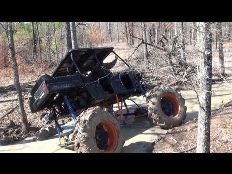 Polaris Ranger On Tractor Tires Pulls Ridiculous Mud Hole