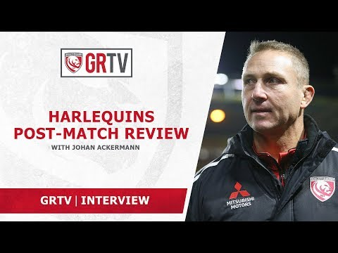 Ackermann post Quins – '…we'll work hard, look forward and turn it around…'