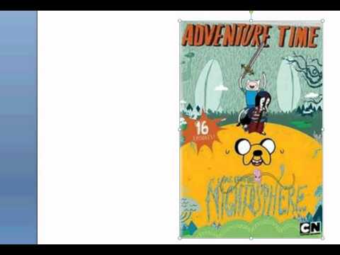 Adventure Time It Came From Night-o-sphere 2 DVD Covers