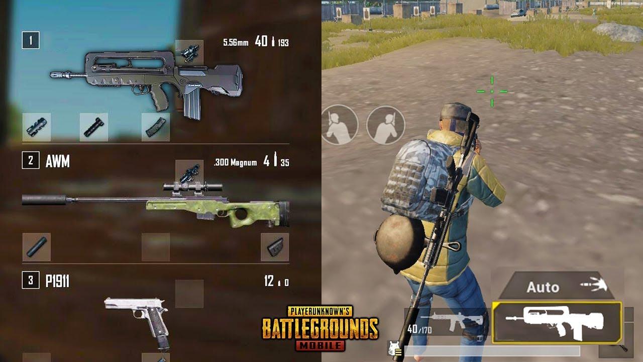 """PUBG Upcoming New Gun """"FAMAS""""   PUBG New GUN Concept - New Future AR in PUBG  Mobile !!! - YouTube"""