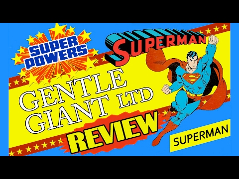 Superman Gentle Giant 1:6 Scale Jumbo Super Powers Collection