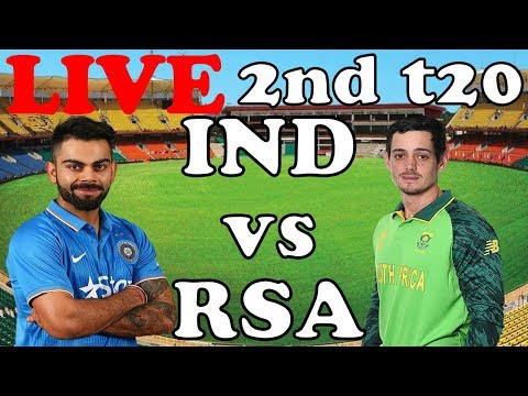 Live India Vs South Africa 2nd T20 I Cricket Live Streaming Ind Vs Rsa 2019 | Live Score Commentary