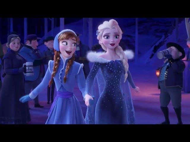 エルサとアナが歌う新曲「When We're Together」 映画『アナと雪の女王/家族の思い出』本編映像