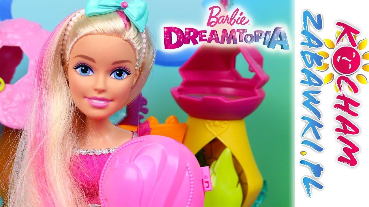 Barbie Dreamtopia • Długowłosa księżniczka • Fryzury na bal • Kreatywne zabawki i tutorial
