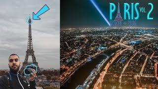 ME SUBO A LA TORRE EIFFEL A HACER FOTOS [París II ]