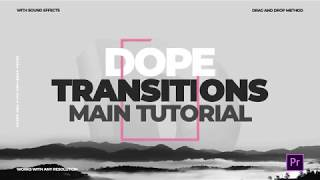 Dope Transitions for Premiere PRO Tutorial