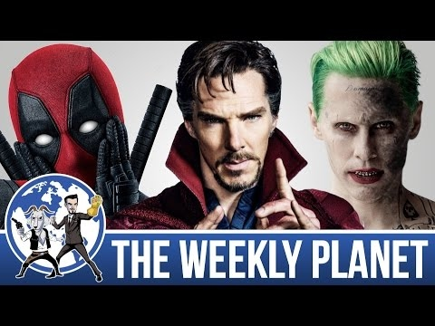 Best & Worst Comic Book Movies 2016 - The Weekly Planet Podcast