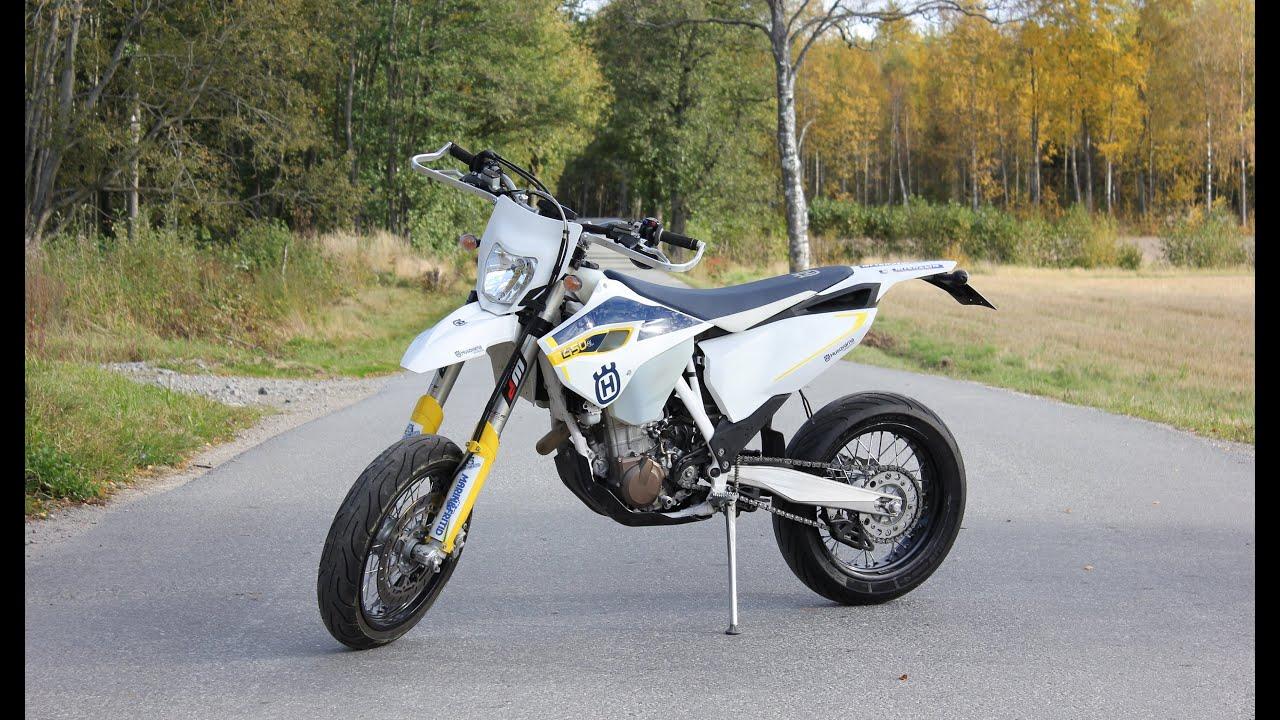 husqvarna fe 450 motard fmf going fast pure sound. Black Bedroom Furniture Sets. Home Design Ideas