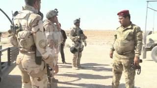 IRAQI ARMY ON ISIS PATROL - WEST OF BAGHDAD