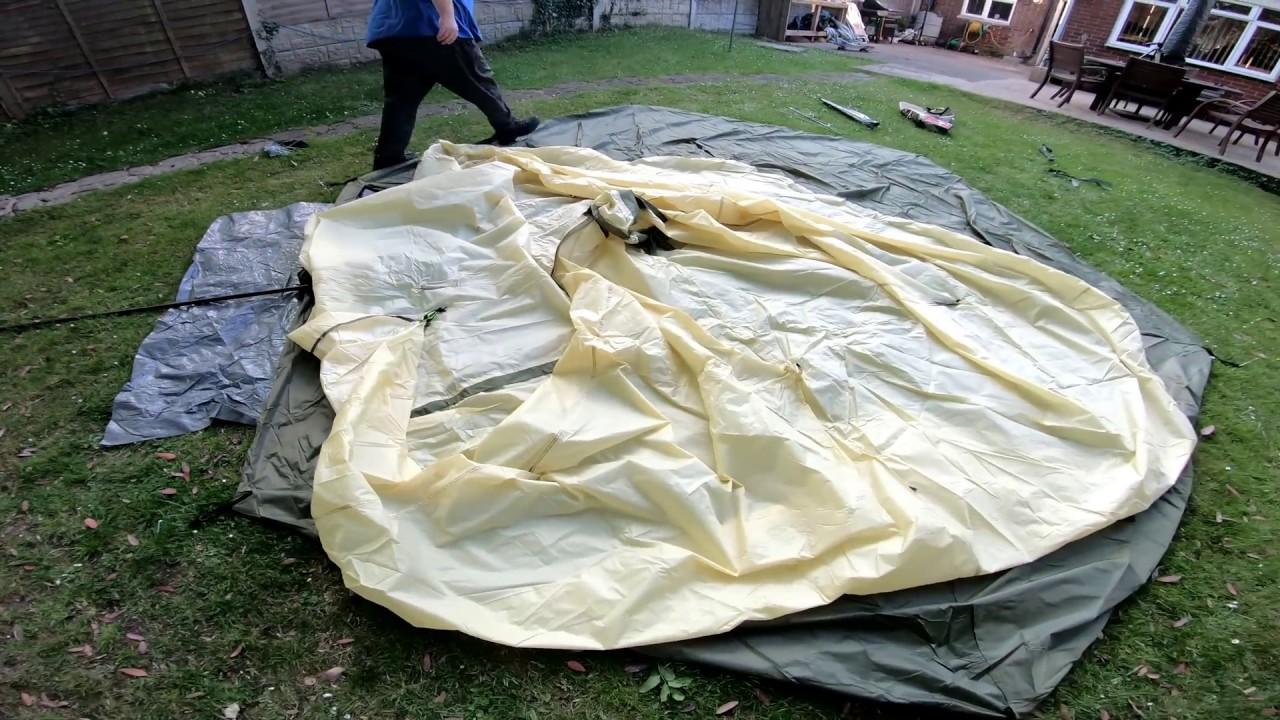 size 40 582f2 cf6e7 Ozark Trail 8 Person Tee Pee Tent - First Setup