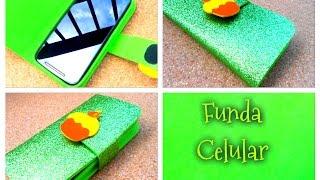 Cómo hacer una funda para celular/movil fácil y rapido