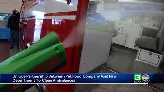 Pet food plant helps Ripon fire department sanitize ambulances quicker