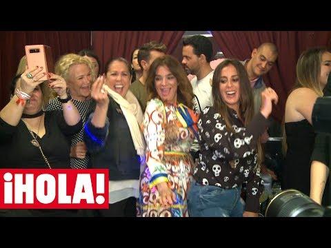 Así baila ISABEL PANTOJA en el concierto de KIKO RIVERA