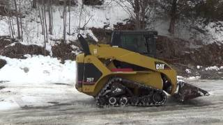 2003 CAT 257 TRACK SKID STEER WITH CAB, AUX, PILOT CONTROLS