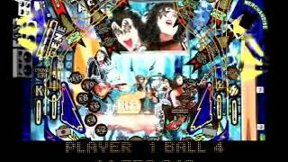 Kiss Pinball PlayStation 1 PS1 Game in English (Part #1)