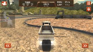 Dump Truck 3D Racing Gameplay (Android) (1080p)