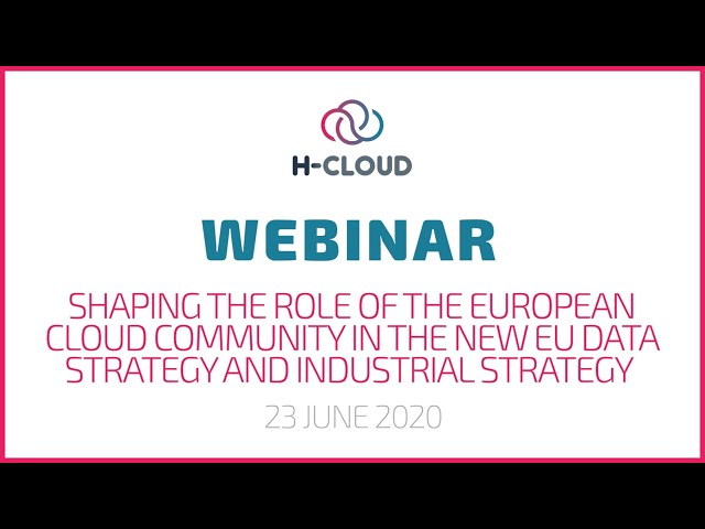 The Role of European Cloud Computing in the EU Data and Industrial Strategy
