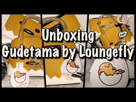 UNBOXING GUDETAMA BY LOUNGEFLY
