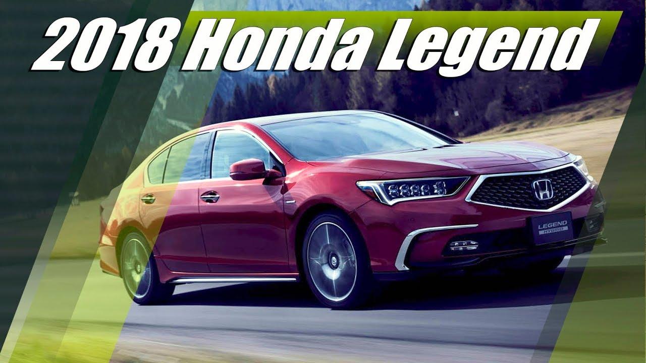 2018 Honda Legend:Обзор,Характеристики,Цена - YouTube