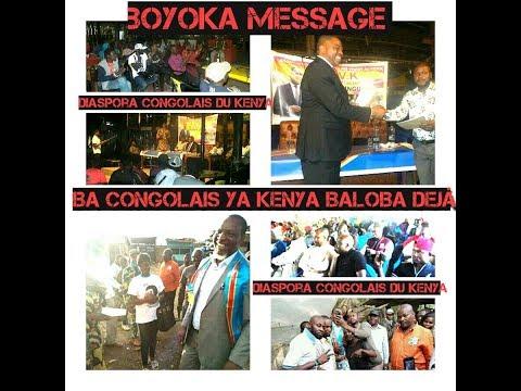 Kenya ba congolais sur place baloba dejà pona affair election diaspora kuna na kenya boyoka